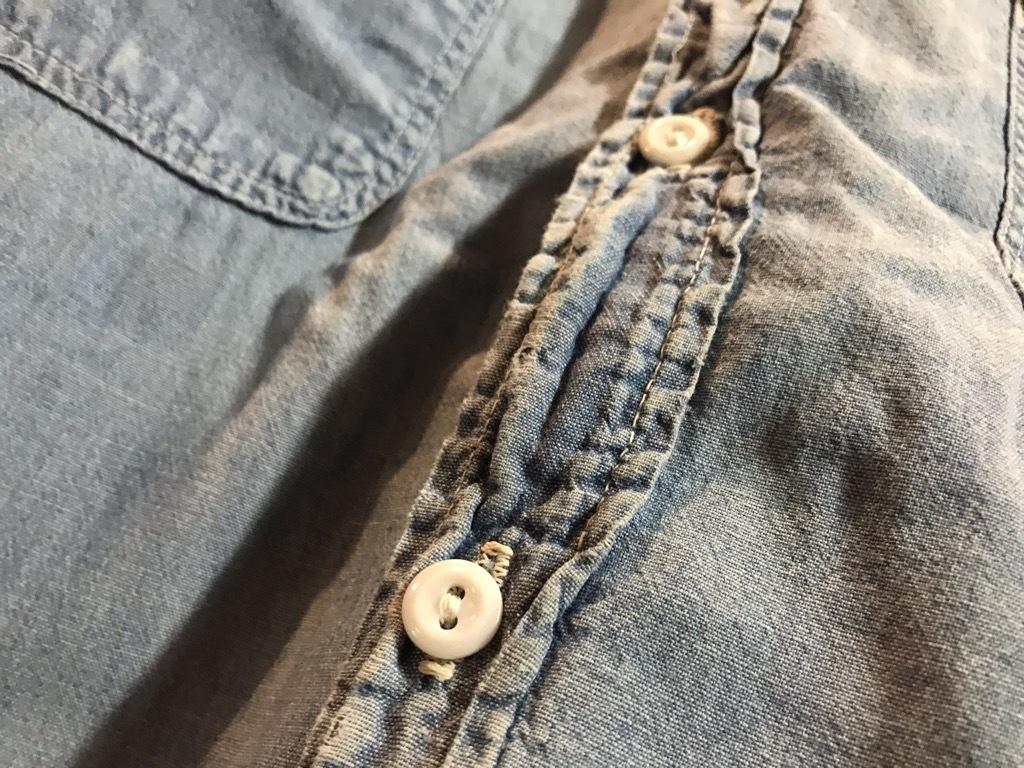 マグネッツ神戸店4/24(水)Vintage入荷! #1 Chambray Shirt!!!_c0078587_17322897.jpg