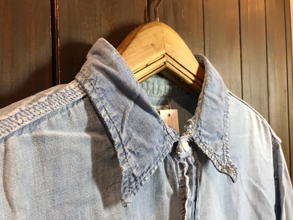 マグネッツ神戸店4/24(水)Vintage入荷! #1 Chambray Shirt!!!_c0078587_17322912.jpg