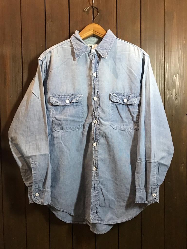 マグネッツ神戸店4/24(水)Vintage入荷! #1 Chambray Shirt!!!_c0078587_17322935.jpg