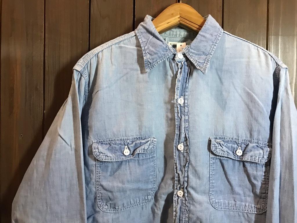 マグネッツ神戸店4/24(水)Vintage入荷! #1 Chambray Shirt!!!_c0078587_17322991.jpg
