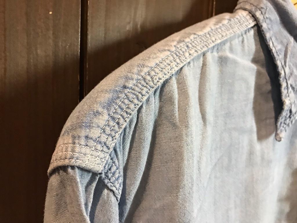 マグネッツ神戸店4/24(水)Vintage入荷! #1 Chambray Shirt!!!_c0078587_17322992.jpg