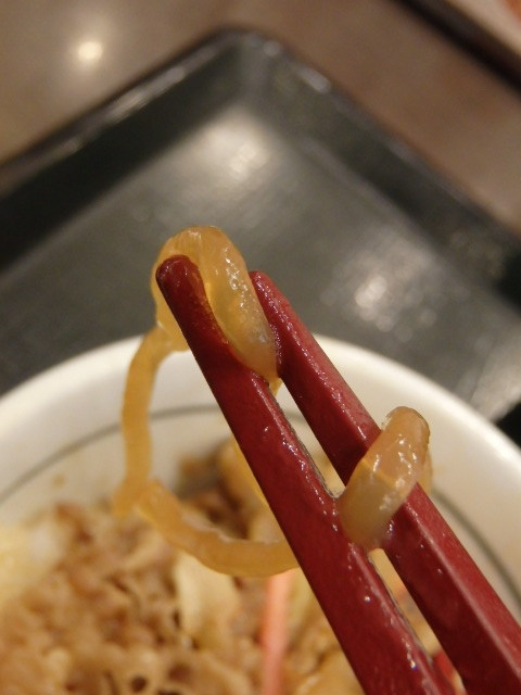 なか卯和風牛丼ミニ+はいから小うどん      新開地店_c0118393_11005174.jpg