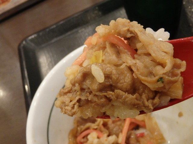 なか卯和風牛丼ミニ+はいから小うどん      新開地店_c0118393_11043781.jpg