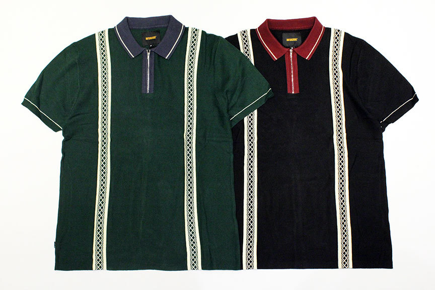 "BUTTER GOODS (バターグッズ) "" NEWARK ZIP POLO SHIRT \""_b0122806_12495463.jpg"