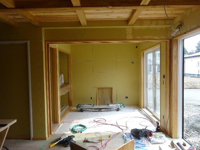 桜台の家 大工工事も終盤戦に入りました!_f0105112_04171863.jpg