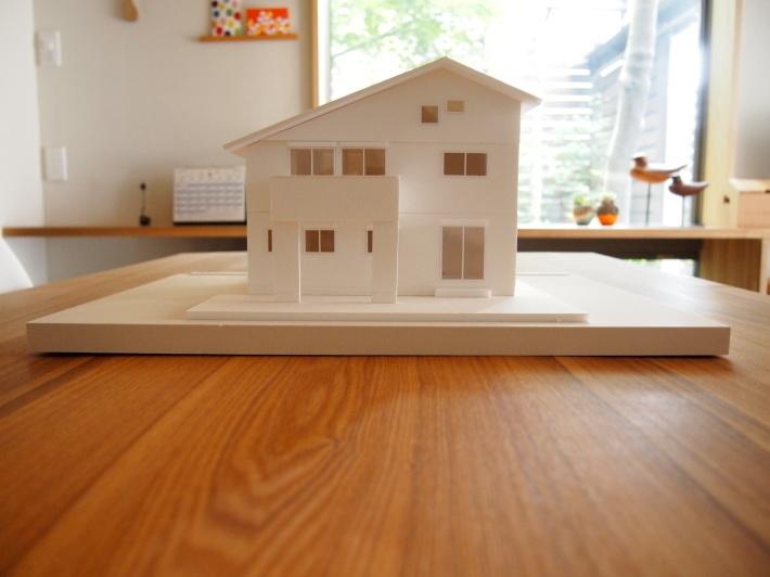 横浜市泉区新橋町の家☆模型完成!_c0152341_09380875.jpg