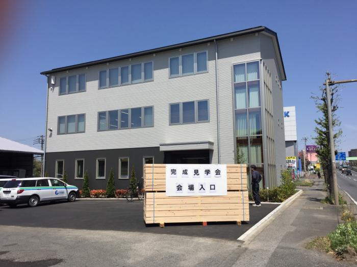 木造のマルオカ埼玉営業所新事務所見学_f0070542_08513282.jpg