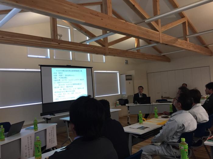 木造のマルオカ埼玉営業所新事務所見学_f0070542_08513748.jpg
