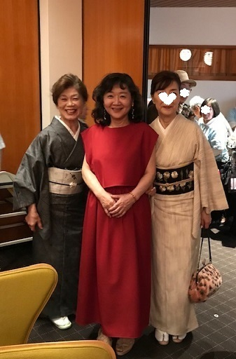 野田さんコンサートのお客様・素敵な貴久樹の刺繍帯。_f0181251_17493174.jpg