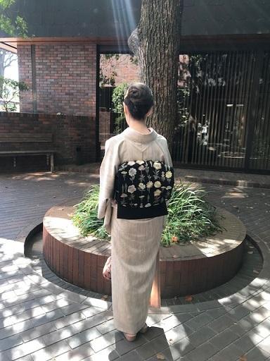 野田さんコンサートのお客様・素敵な貴久樹の刺繍帯。_f0181251_18011346.jpg