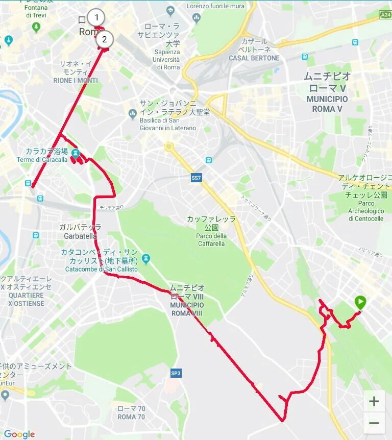 ローマ3日目【ローマ郊外】アッピア街道はどこまでも続いていた_e0201281_02151124.jpg