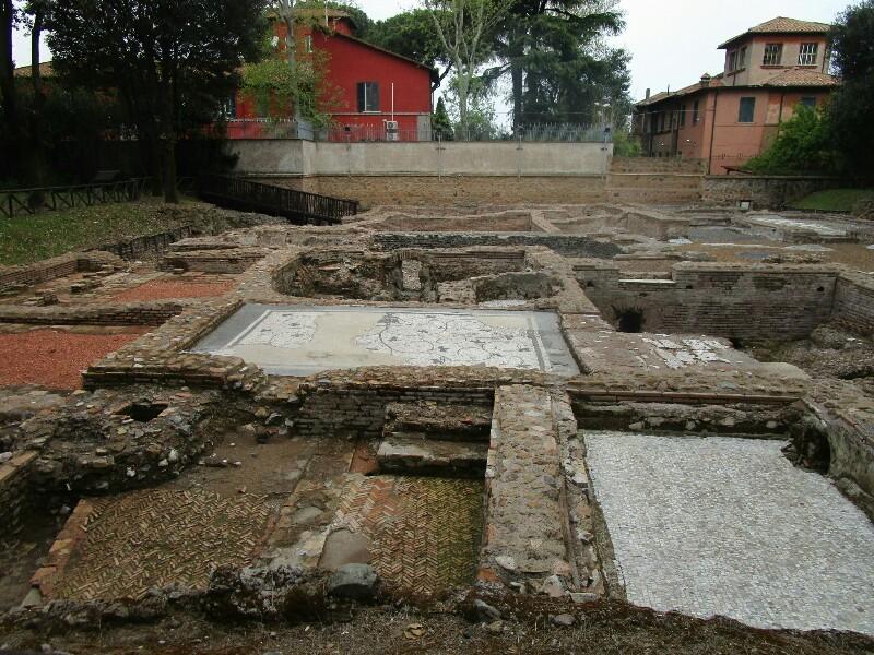 ローマ3日目【ローマ郊外】アッピア街道はどこまでも続いていた_e0201281_02194391.jpg