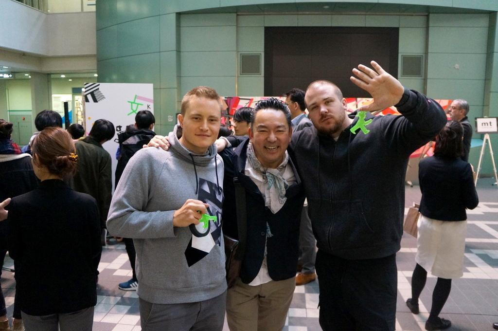 文京シビックセンターで出会ったのはベルリンからのTAPE THAT 4/11_c0180686_15431699.jpg