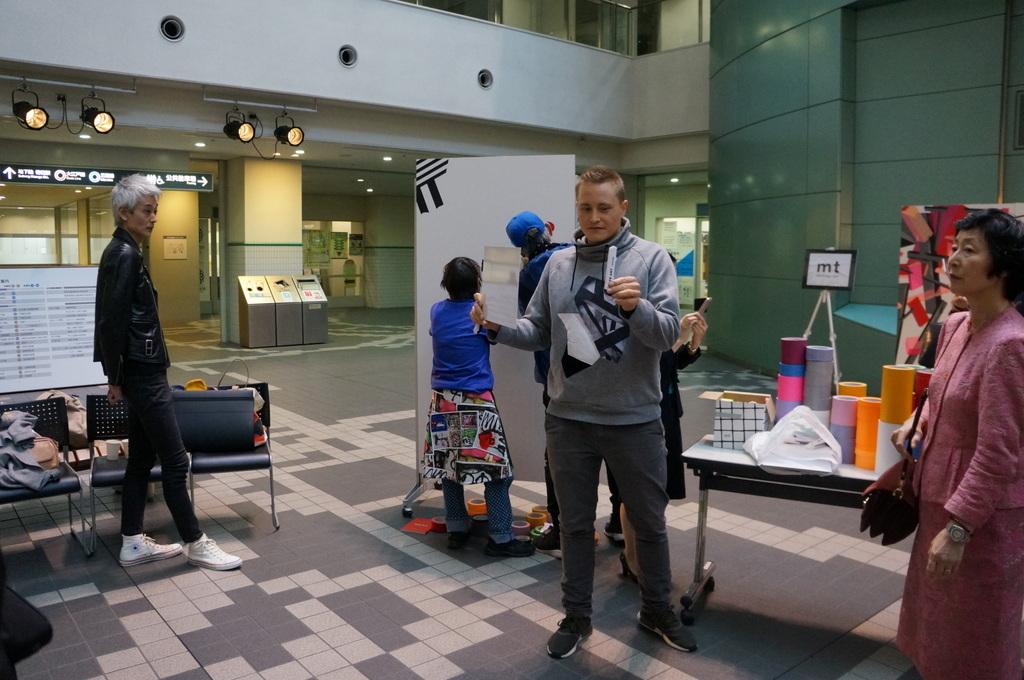 文京シビックセンターで出会ったのはベルリンからのTAPE THAT 4/11_c0180686_15432194.jpg