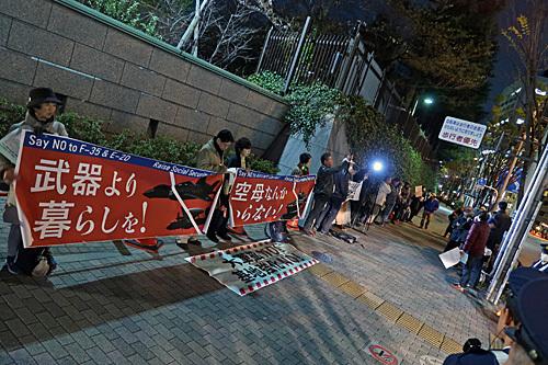 No War! No Nukes! No Abe! カメコレ_a0188487_18041761.jpg