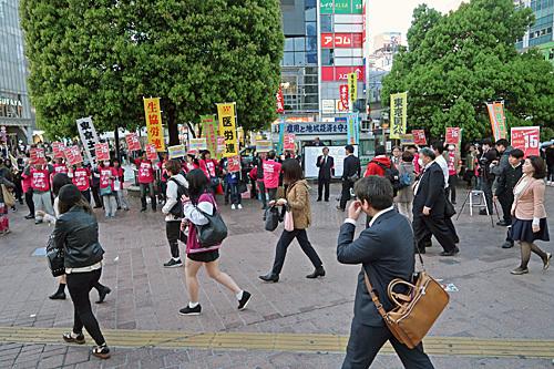 渋谷ハチ公前_a0188487_18151208.jpg