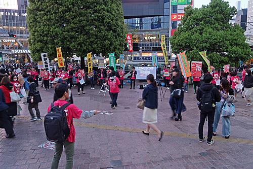 渋谷ハチ公前_a0188487_18153599.jpg