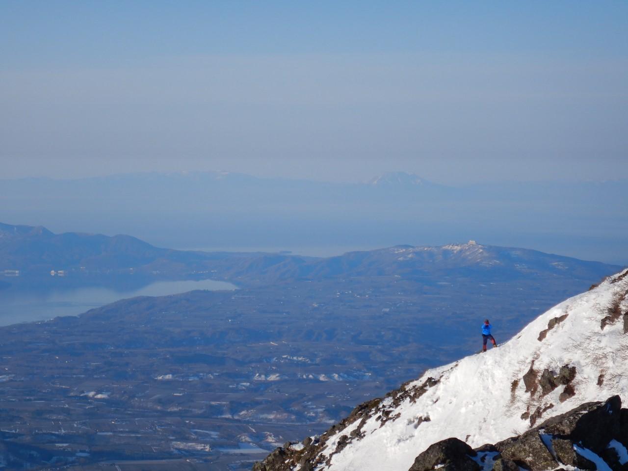 羊蹄山ご来光登山、2019.4.21ー同行者からの写真ー_f0138096_18194356.jpg