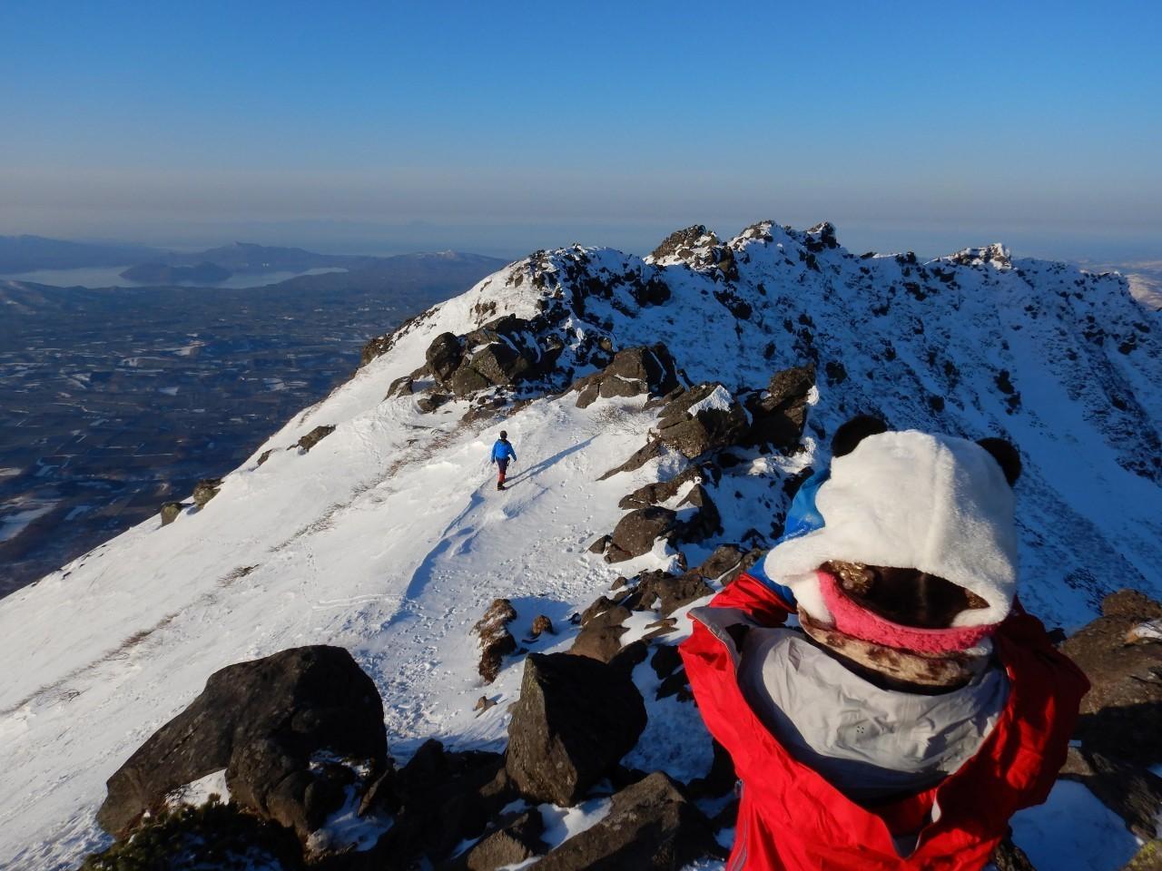 羊蹄山ご来光登山、2019.4.21ー同行者からの写真ー_f0138096_18205741.jpg