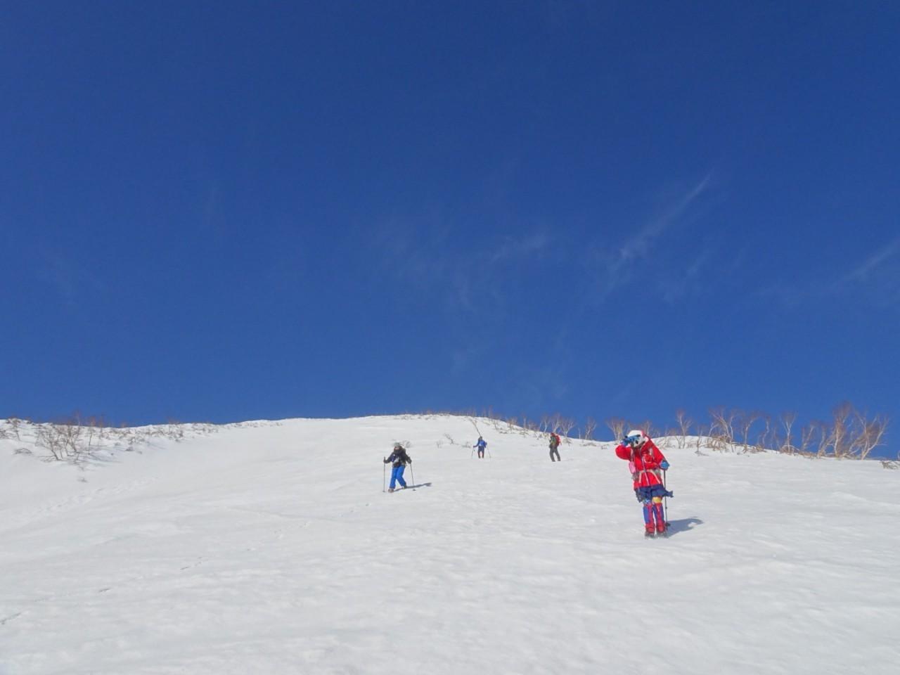 羊蹄山ご来光登山、2019.4.21ー同行者からの写真ー_f0138096_18271329.jpg