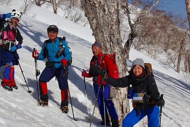羊蹄山ご来光登山、2019.4.21ー同行者からの写真ー_f0138096_23054425.jpg