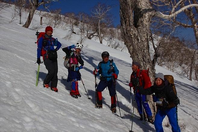 羊蹄山ご来光登山、2019.4.21ー同行者からの写真ー_f0138096_23054463.jpg