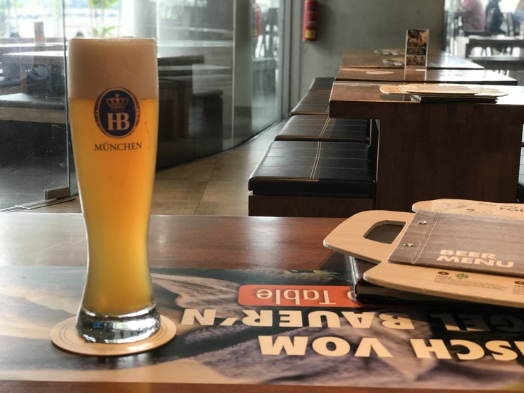4/23☆VIVO Cityでビール休憩中♪_c0212604_13121237.jpg
