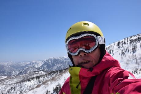 2019年4月6日三俣の定宿「弥八」に泊まり、神楽スキー場で滑る_c0242406_15414842.jpg