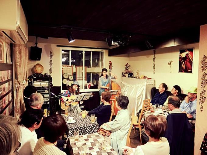 笠岡のもんしゅしゅで別府葉子✖️中村尚美の初Duoライブでした♪♪_c0091117_11064417.jpg