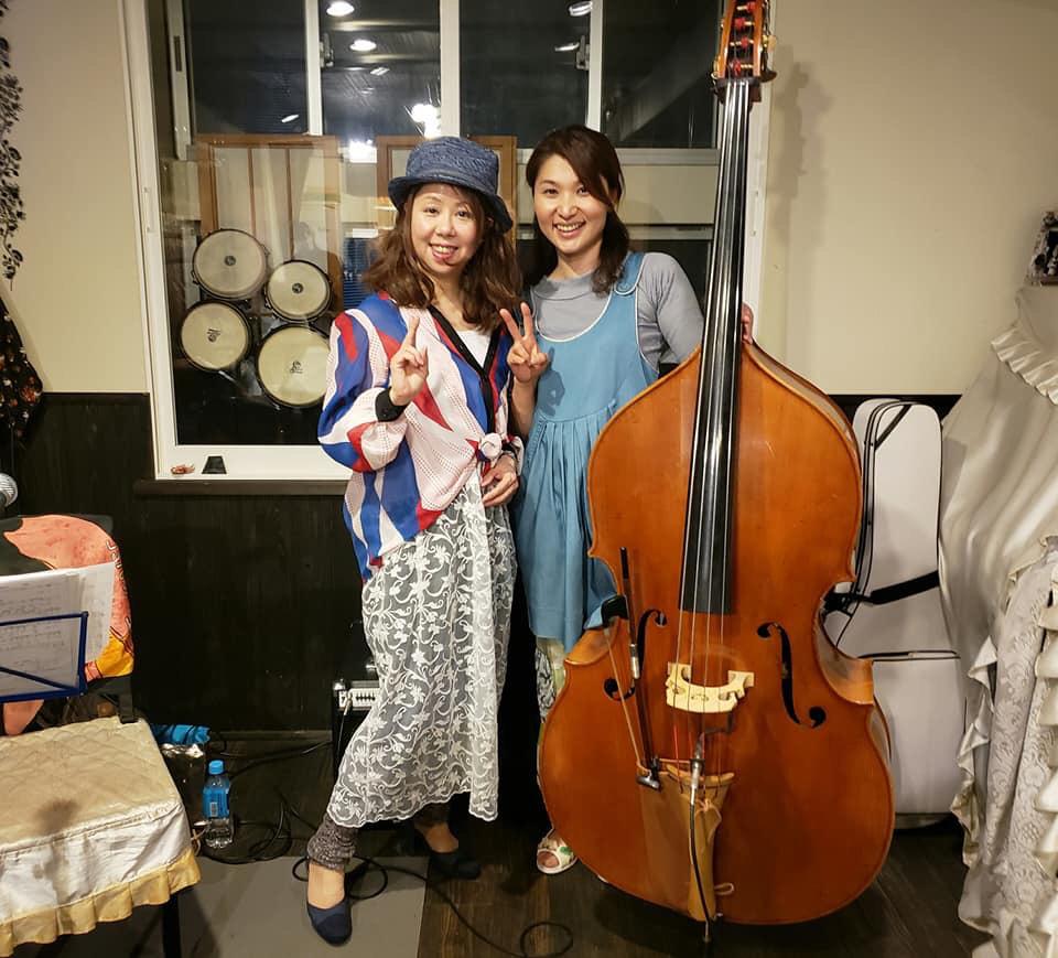 笠岡のもんしゅしゅで別府葉子✖️中村尚美の初Duoライブでした♪♪_c0091117_11064962.jpg