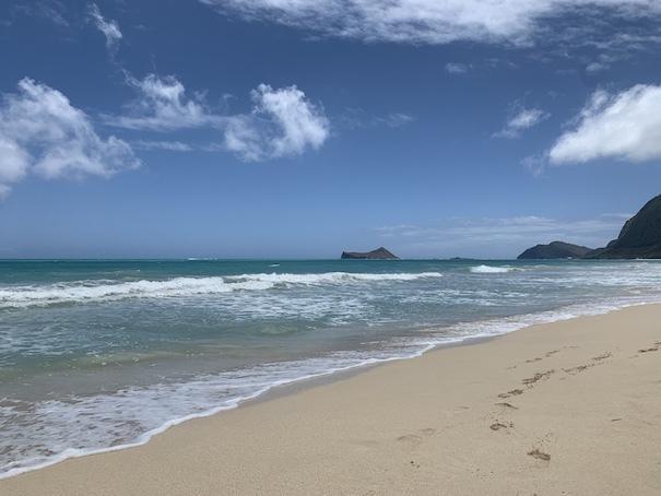 ハワイの海〜ワイマナロ!_c0187025_09202236.jpg