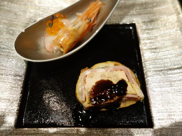ポイントで宿泊@ヒルトン東京 (2) 「十二颯」で夕食_b0405262_1803939.jpg