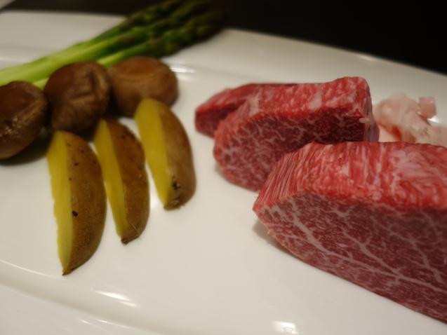 ポイントで宿泊@ヒルトン東京 (2) 「十二颯」で夕食_b0405262_18124.jpg