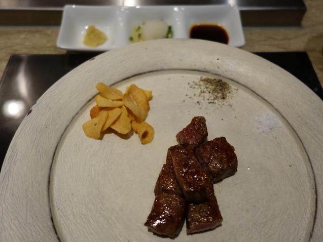 ポイントで宿泊@ヒルトン東京 (2) 「十二颯」で夕食_b0405262_1833220.jpg