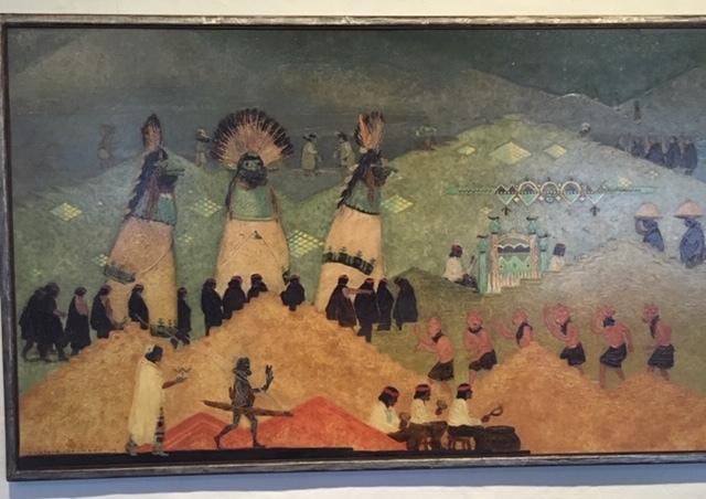サンタフェへの旅ーNew Mexico Museum of Art_e0350971_13202143.jpg