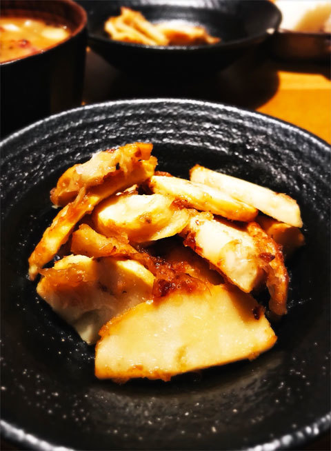 タケノコのバターしょうゆ炒め_a0342172_20540768.jpg