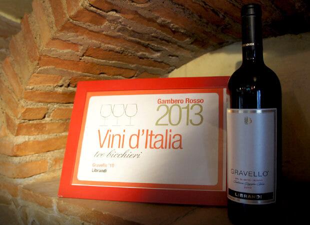 チロ・マリーナ  カラブリアワインの雄 リブランディへ_f0205783_22370154.jpg