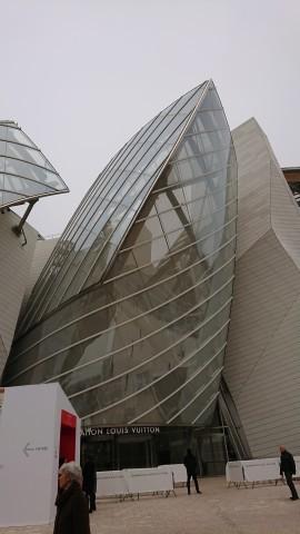 <パリ探訪> フランク・ゲーリー「ルイ・ヴィトン美術館」(1) Paris, Frank Gehry, Fondation Louis Vuitton_a0147436_17071974.jpg