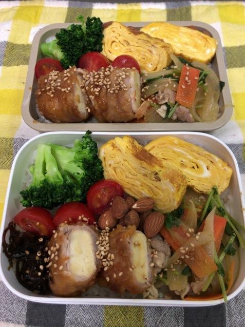 高野豆腐の豚肉巻き弁当_b0371149_06534067.jpeg