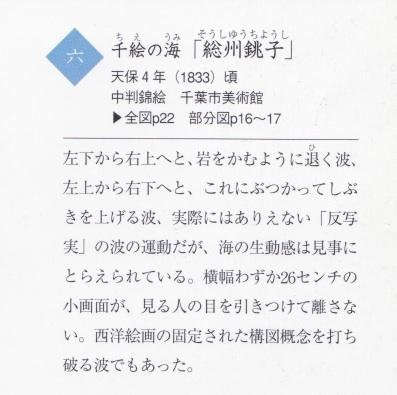 北斎「千絵の海/銚子」天保水滸伝?_b0230759_22112970.jpg