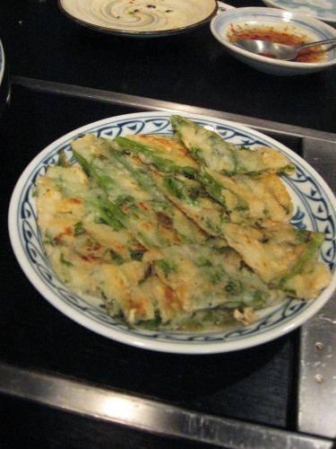 春の九節板 京都 韓国料理 桃李園_b0153663_17445228.jpg