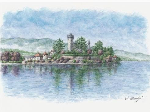 セザンヌを訪ねて 8  番外編 「アヌシー湖」 (ドイツ・ニュース・ダイジェスト 4月のコラムから)_a0280569_0261159.jpg
