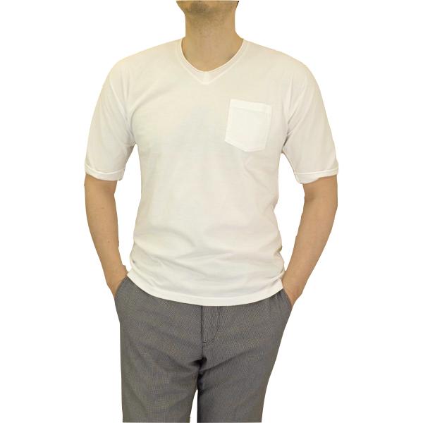 biography バイオグラフィー AFTER SUNBURN Vネック ポケットTシャツ_c0118375_17563676.jpeg
