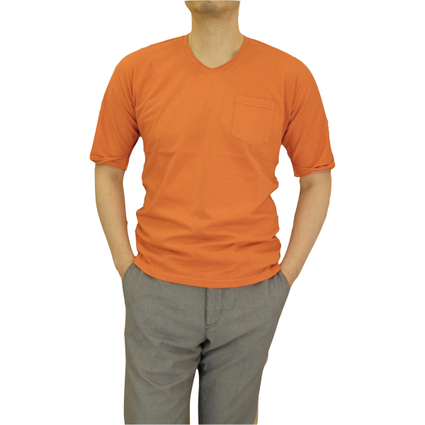 biography バイオグラフィー AFTER SUNBURN Vネック ポケットTシャツ_c0118375_17571876.jpeg
