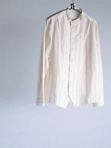 ASEEDONCLOUD Formal Shirt - Oykotoen Stripe Red_b0139281_14321916.jpg