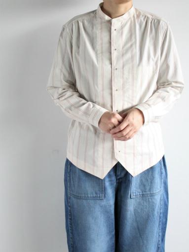 ASEEDONCLOUD Formal Shirt - Oykotoen Stripe Red_b0139281_14323890.jpg