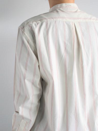 ASEEDONCLOUD Formal Shirt - Oykotoen Stripe Red_b0139281_14331469.jpg