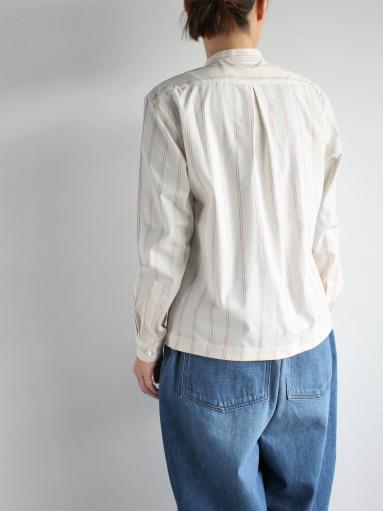 ASEEDONCLOUD Formal Shirt - Oykotoen Stripe Red_b0139281_14333378.jpg