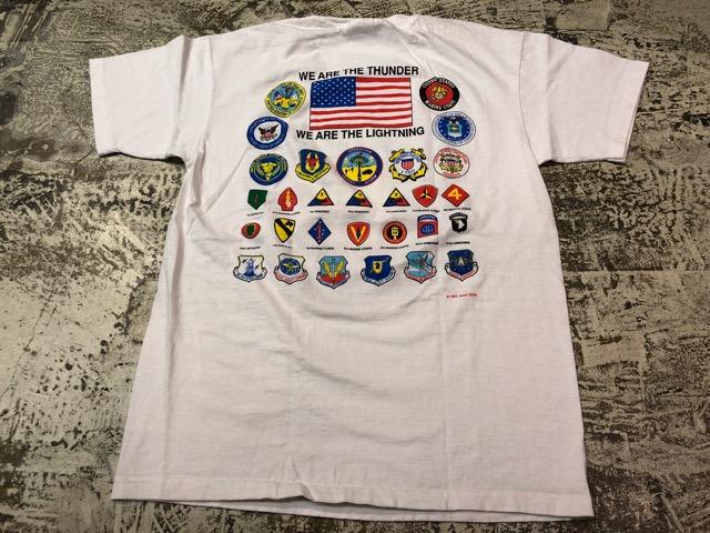 4月27日(土)マグネッツ大阪店スーペリア入荷!! #4 U.S.Military T-Shirt編! Champion & Army,USMC,USN,USAF!!_c0078587_1647015.jpg