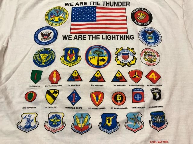 4月27日(土)マグネッツ大阪店スーペリア入荷!! #4 U.S.Military T-Shirt編! Champion & Army,USMC,USN,USAF!!_c0078587_1648221.jpg